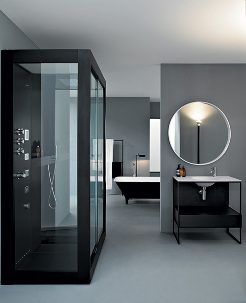 clean minamal bathroom design