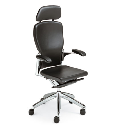 egronomic leather office chair