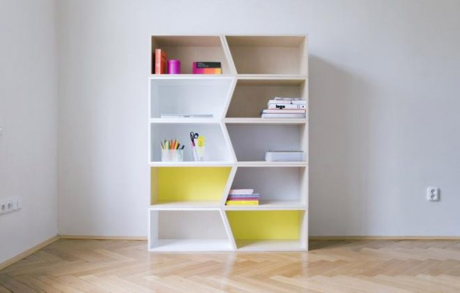 modern design stylish modular shelving unit