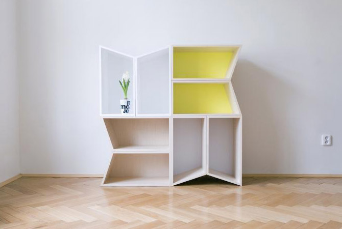 unique and modular shelves