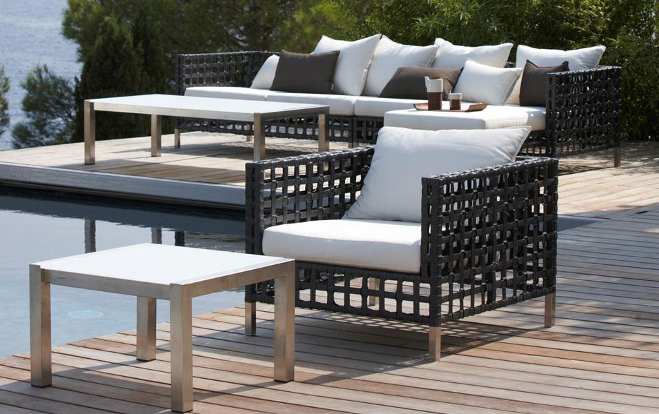 Cane Line Flow Lounge Outdoor Furniture - Refined Decor