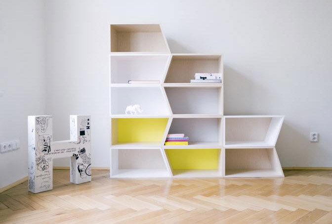 fun and modern modular shelving units