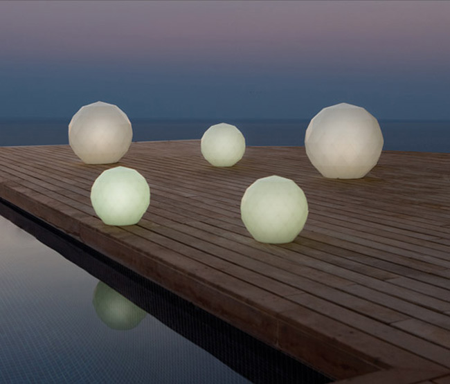 modern deck lighting