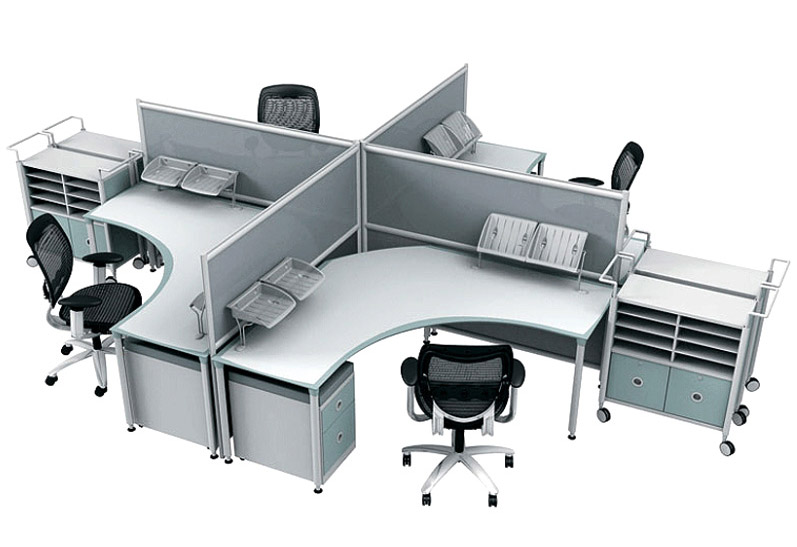 social modular office furniture